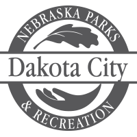 dakota city nebraska parks and recreation logo
