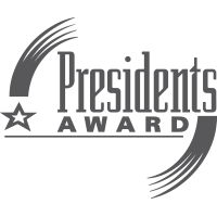 realtors presidents award logo