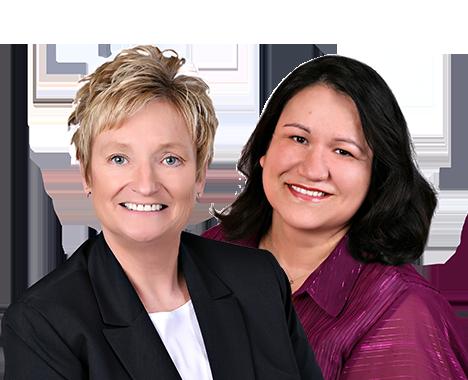 Cardinal City Realtors Deb Larson and Alma Salcido